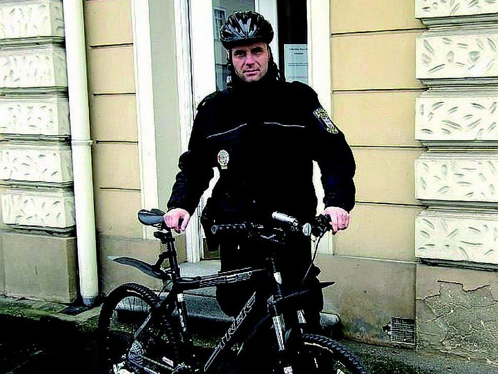 Strážníci na kolech jsou k vidění i na Novojičínsku.