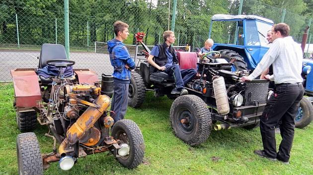 Jesenická Hůrka patřila o víkendu traktorům.