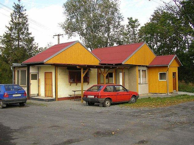 Komplex objektů, ve kterých měl bývalý starosta obce neoprávněně podnikat.