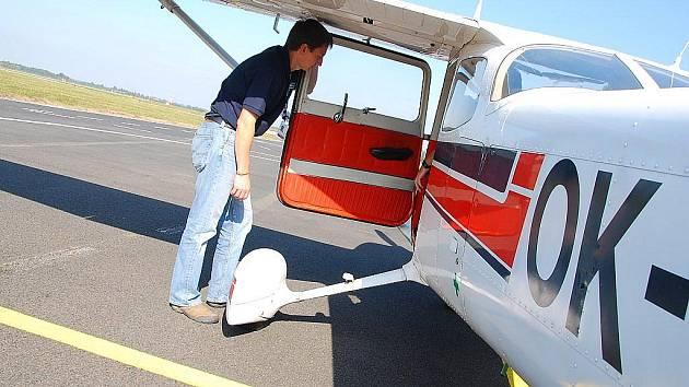 Akce s názvem Pilotem na zkoušku probíhá každý měsíc na Letišti Leoše Janáčka v Mošnově.