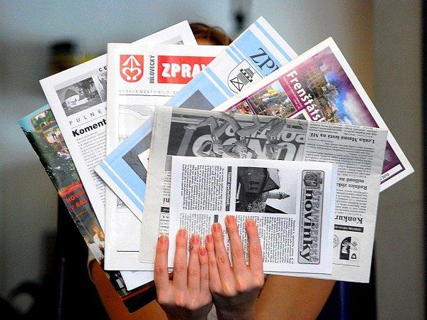 Radniční noviny. Ilustrační foto
