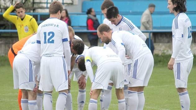 Frenštátší fotbalisté tentokráte další body v krajském přeboru nepřidali.