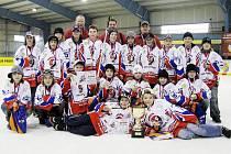 Hokejovými mistry České republiky v žákovské kategorii 6. tříd se po roce stali opět mladíci HK Nový Jičín. Na závěrečném turnaji v Neratovicích, pořádaným pražskou Spartou, neprohráli jediný zápas.