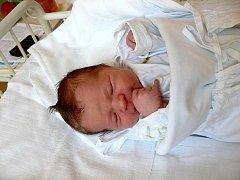 Davídek Jakub, nar. 7. 9. 2010, 52 cm, 3,49 kg, Albrechtičky, nemocnice Nový Jičín.
