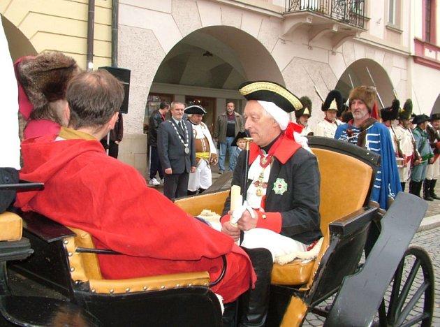 Josef II se vrátil do Nového Jičína v podobě Emanuela Grepla