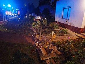 Dvě noční nehody na Novojičínsku bez vážného zranění.