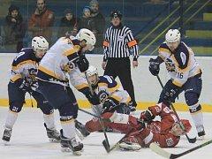 II. hokejová liga, 43. kolo HC Kopřivnice – HC Frýdek-Místek 3:4 SN