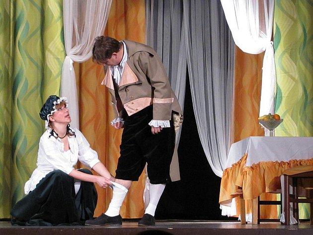 V Bílovci se naposledy ukázala Bílá paní divadelního souboru Odřivous.