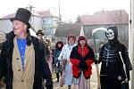 Masopustní průvod zažili po několikaleté přestávce také v Libhošti.