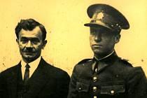 Jaroslav Hlaďo se svým otcem Janem.