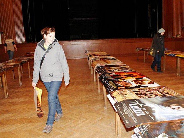Fanoušci filmových plakátů se sjeli v úterý do Kopřivnice.