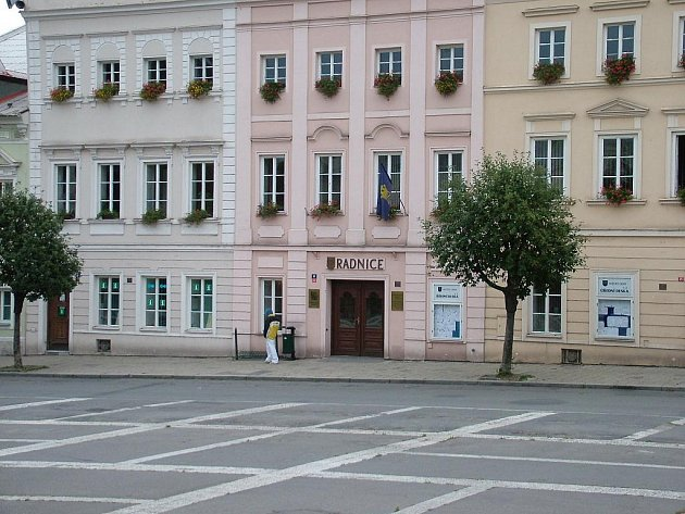 Radnice v Odrách.