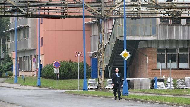 Archivní ilustrační foto z areálu společnosti Semperflex Optimit v Odrách.