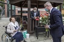 Miroslava Šikulová oslavila 2. května sté narozeniny.