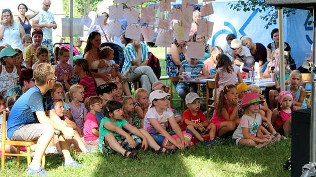 Akce Fajné léto se uskutečnila v sobotu v areálu zámku ve Studénce.