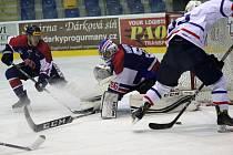 Osm gólů nasázeli kopřivničtí hokejisté do sítě Moravských Budějovic, čímž napravili předchozí porážku v derby.