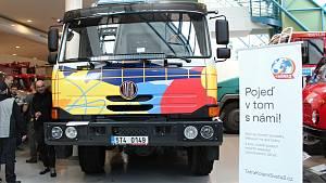 Expediční Tatra dorazila do Kopřivnice