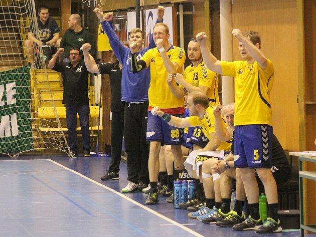 KOPŘIVNICKOU RADOST tentokráte odneslo Brno, jemuž Vávrovi svěřenci oplatili porážku z prvního vzájemného duelu a na domácí palubovce slavili vítězství 26:24.