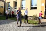 Pamětní desku věnovanou T. G. Masarykovi pověsili v Tiché na budovu školy opět po devadesáti letech.