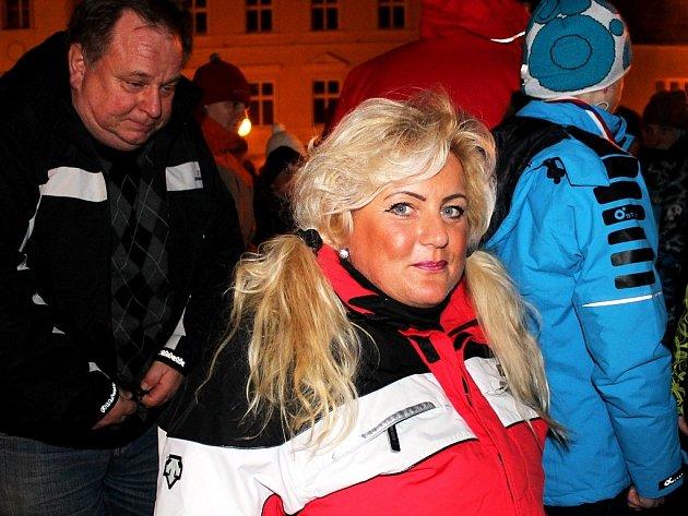 Úspěšná sportovkyně Lenka Kuncová zFrenštátu pod Radhoštěm byla letos například při zahájení Celostátní olympiády dětí a mládeže, které se konalo ve Frenštátě pod Radhoštěm.