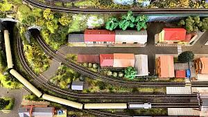 Výstava železničních modelů v knihovně