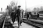 V pondělí 26. února 1990 bylo na vlakovém nádraží ve Frenštátě pod Radhoštěm už od rána nebývale rušno. Pobyt sovětských vojáků. Odjížděli domů.