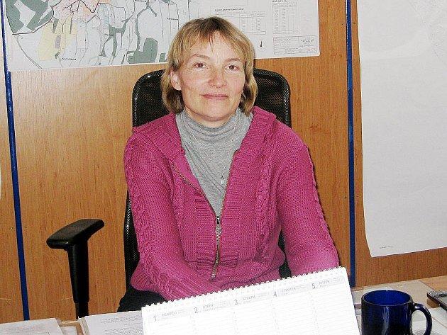 Marie Janečková, místostarostka obce Rybí