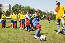 Mc donald´s Cup. Fotbalisté 1. až 5. tříd Moravskoslezského kraje se utkali o účast v celostátním finále v Jihlavě.