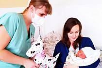 Prvním miminkem narozeným letos v novojičínské nemocnici byl Ondřej narozený na Nový rok.