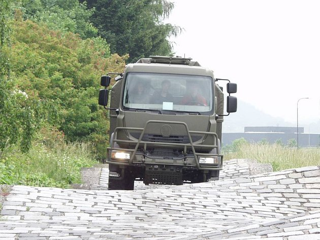 Tatrovka, kterou testovala armáda.