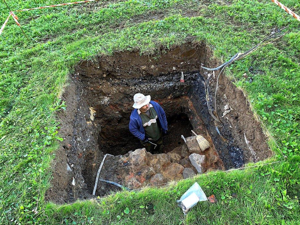 Archeologové na místě pracují od pondělí 30. září.