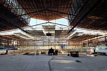 Práce na rekonstrukci zimního stadionu v Novém Jičíně jsou v plném proudu.
