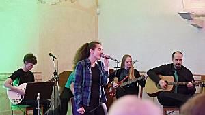 Koncert irských melodií v podání svých žáků upořádala v úterý 19. března ZUŠ Příbor. Foto: Stanislava Slováková