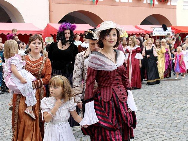 Loňské slavnosti města v Novém Jičíně.