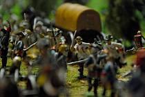 Diorama se stovkami cínových vojáčků bude největší atrakcí nově vznikající expozice Generál Laudon v Novém Jičíně, kde významný vojevůdce roku 1790 zemřel.