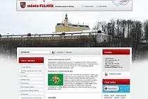 Úvodní strana oficiálního webu města Fulnek