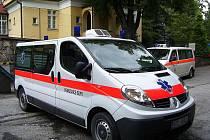 Nová sanita, kterou pořídila Městská nemocnice v Odrách.