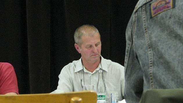 Bývalý starosta Hladkých Životic Jaroslav Petržela.