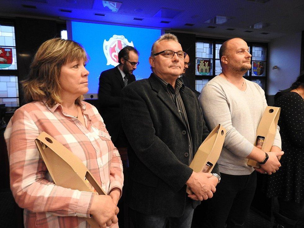 Setkání s novojičínskými dárci krve se uskutečnilo ve středu 16. října v aule radnice.