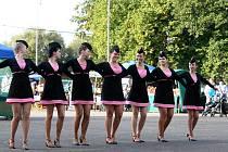 Bílovecké mažoretky byly jedním z čísel pestrého programu Dne městyse Suchdol nad Odrou, který se uskutečnil v sobotu 15. září.