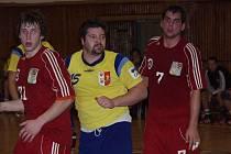 Kopřivnický Jiří Gřes se stal na turnaji v Litovli nejlepším střelcem. Z šestašedesáti branek svého týmu vstřelil 19.