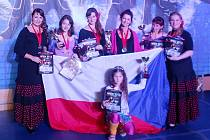 Thara se ve Vídni velmi líbila. Odborná porota ocenila tanečnice z Kopřivnice několika medailemi a poháry.