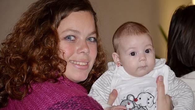 Dnes vítáme Terezu Chlápkovou z Příbora, která se s rodiči a babičkou zúčastnila slavnostního aktu 16. prosince 2012 v příborské obřadní síni.