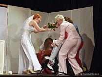 Členové amatérského divadelního souboru Přídlo svou premiéru zvládli.
