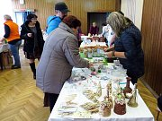 Předvánoční trh se v Mankovicích uskutečnil již počtvrté. I tentokrát o něj lidi měli zájem.