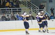 4. zápas čtvrtfinále play-off:  HC KOPŘIVNICE – VHK ROBE VSETÍN 3:8 (0:1, 2:2, 1:5)