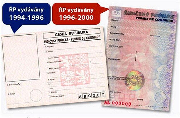 Pokud vlastníte tyto řidičské průkazy, co nejdříve si je vyměňte za nové.