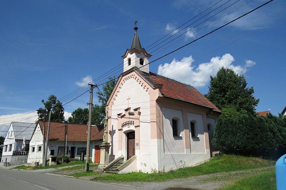 Skotnická kaple Panny Marie na Dolech.