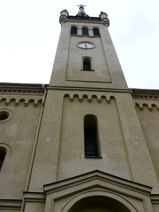 Evangelický kostel v Suchdole nad Odrou.