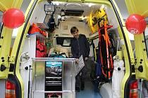 Den tísňové linky 155 se uskutečnil v pondělí 15. 5. také na výjezdové základně Zdravotnické záchranné služby v Novém Jičíně.